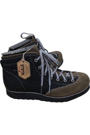 Woolrich Grey Suede Boots