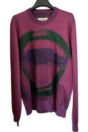Maison Martin Margiela Metallic Viscose Knitwear & Sweatshirt