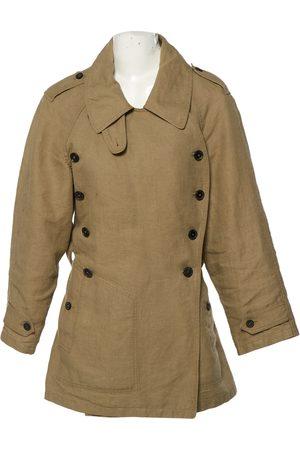 Isabel Marant Khaki Linen Trench Coats