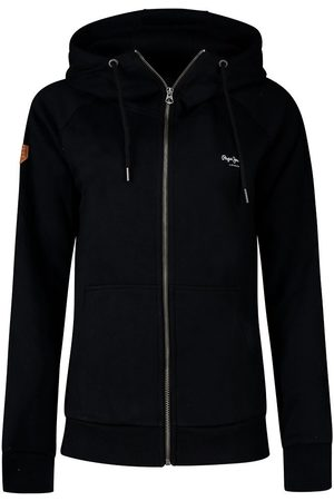 Pepe Jeans Anette Full Zip Sweatshirt L Black