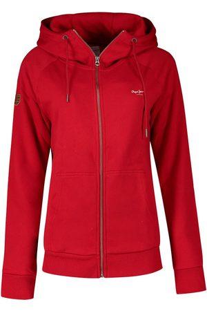 Pepe Jeans Anette Full Zip Sweatshirt L Winter Red