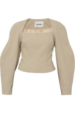 Nanushka Harini blouse