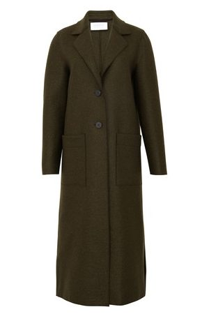 Harris Wharf London Women Coats - Long Boxy coat