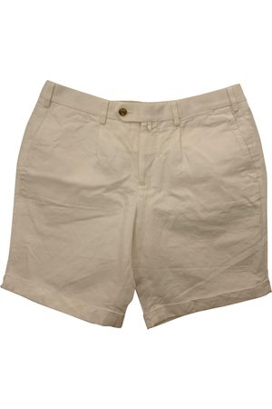 SUITSUPPLY Ecru Linen Shorts