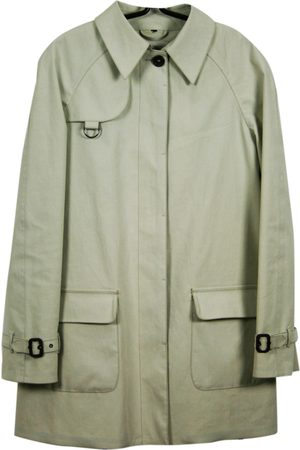 Sealup Ecru Cotton Trench Coats