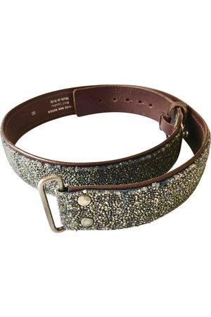 DRIES VAN NOTEN Leather Belts