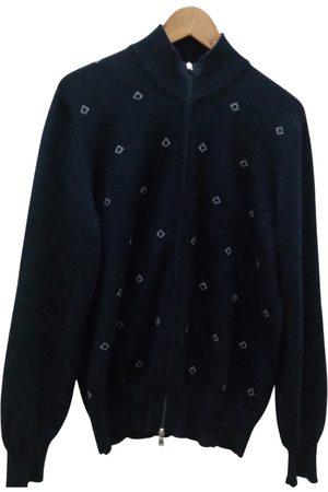 Brunello Cucinelli Navy Cashmere Knitwear & Sweatshirts