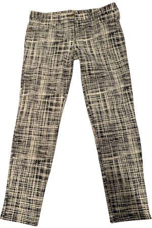 Moschino Multicolour Spandex Trousers