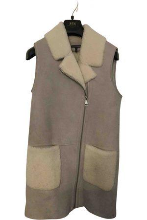 Intermix Leather coat