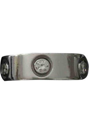 Cartier Metallic White Rings