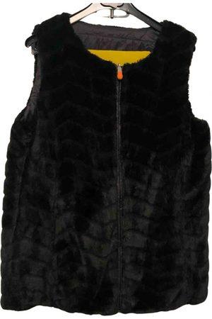save the duck Faux fur cardi coat