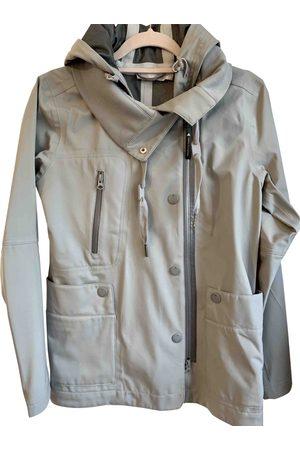 Stella McCartney Grey Polyester Trench Coats
