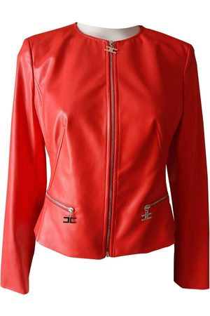 Elisabetta Franchi Polyester Leather Jackets