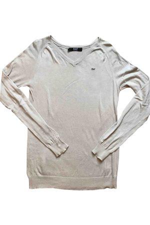 RAF SIMONS Ecru Cotton Knitwear & Sweatshirts