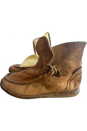 BRUNO BORDESE Suede Ankle Boots