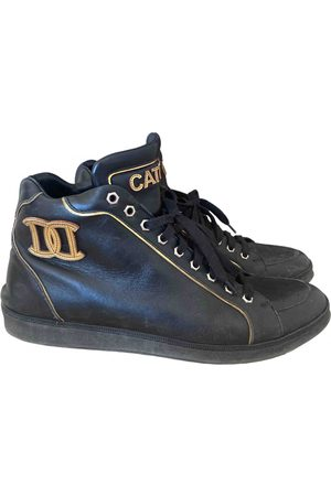 Dsquared2 Leather high trainers