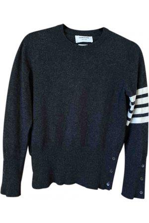 Thom Browne Men Sweatshirts - Anthracite Cashmere Knitwear & Sweatshirts