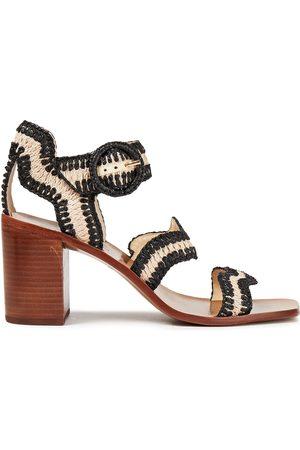 ZIMMERMANN Woman Two-tone Raffia Sandals Size 36