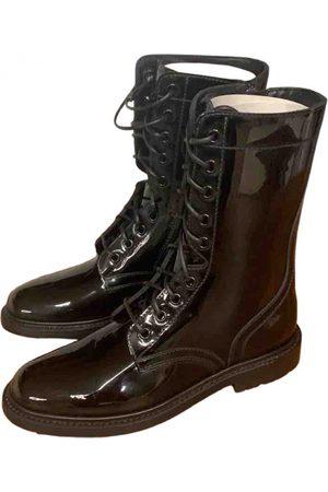 Céline Patent leather Ankle Boots