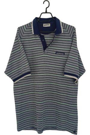 adidas Multicolour Cotton Polo Shirts