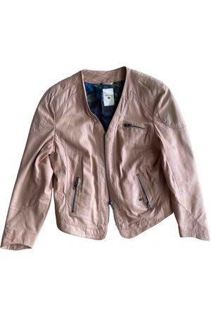 Mos Mosh Leather biker jacket