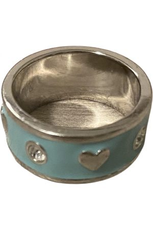 Guess Turquoise Steel Rings