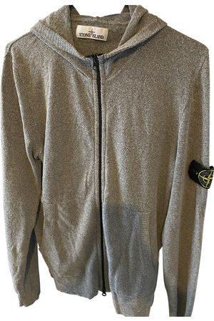 Stone Island Grey Cotton Knitwear & Sweatshirts