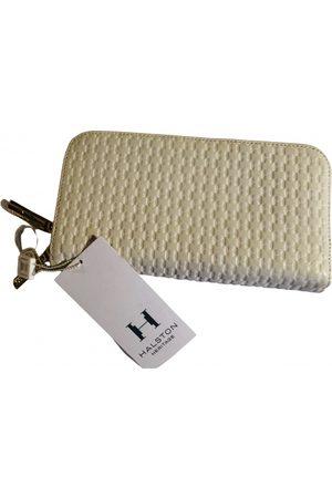 Halston Heritage Women Wallets - Ecru Leather Wallets