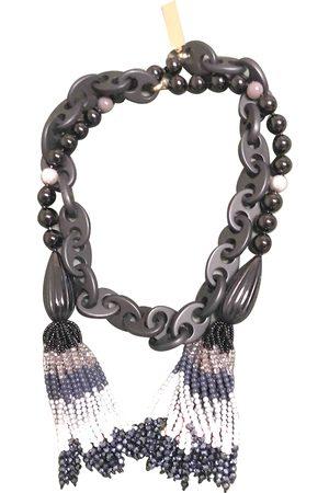 Max Mara Plastic Long Necklaces