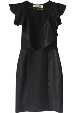 RUE DU MAIL Silk mid-length dress