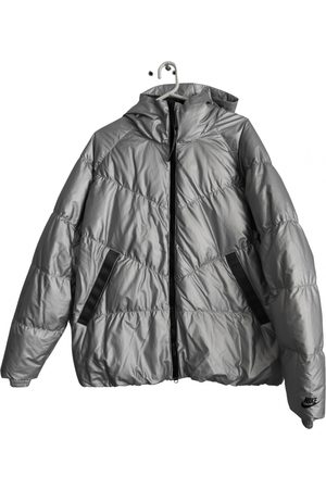 Nike Grey Polyester Coats