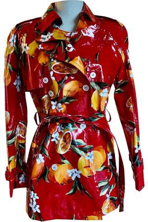 Dolce & Gabbana Multicolour Cotton Trench Coats