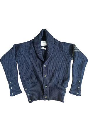 Thom Browne Men Sweatshirts - Navy Cashmere Knitwear & Sweatshirts