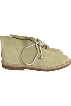 ALVARO GONZALEZ Leather lace up boots