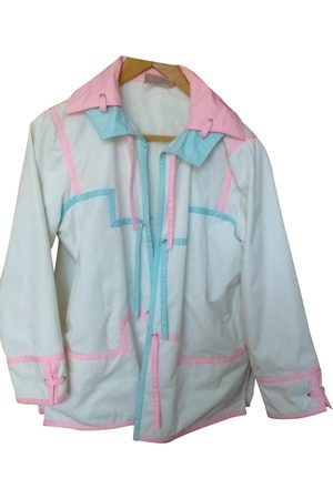 Courrèges Ecru Cotton Coats