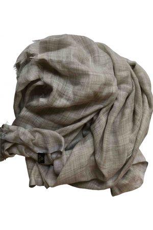 Loro Piana Grey Cashmere Scarves