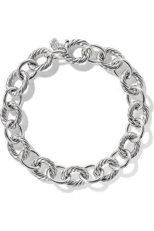 David Yurman Medium oval link chain bracelet