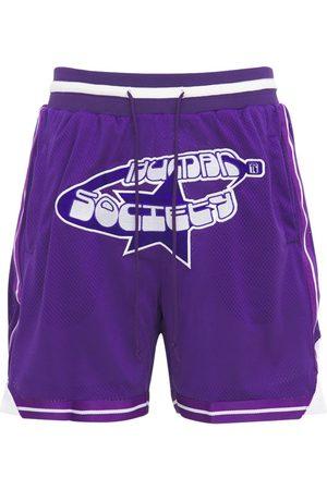 HUMAN SOCIETY Logo Basketball Shorts