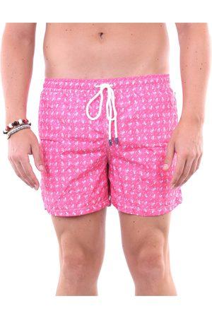 FEDELI Sea shorts Men Fuchsia fantasy