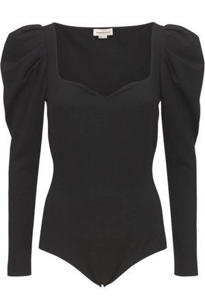 Alexander McQueen Viscose Jersey Bodysuit