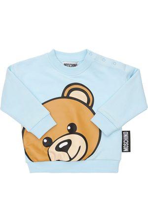 Moschino Toy Print Cotton Sweatshirt