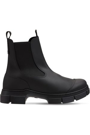 Ganni Women Ankle Boots - 45mmm Ankle Rubber Rain Boots