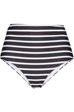 More Joy Breton stripe bikini bottoms
