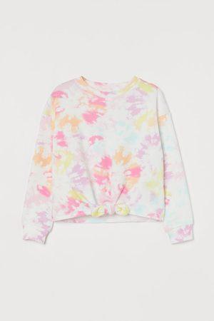 H&M Kids Sweatshirts - Tie-detail Sweatshirt