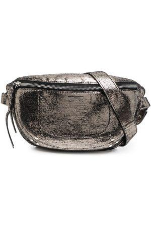 Jérôme Dreyfuss Women Bags - Lino leather belt bag - Grey
