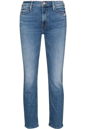 MOTHER Women Skinny - The Dazzler cropped jeans
