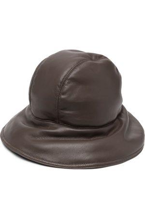 Nanushka Hats - Padded vegan leather hat