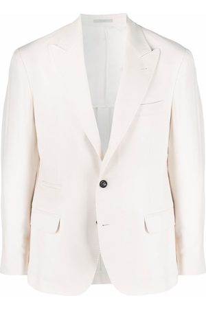 Brunello Cucinelli Single-breasted tailored blazer