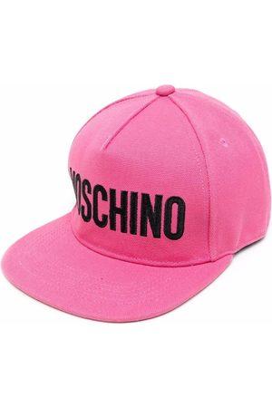 Moschino Logo-print canvas cap