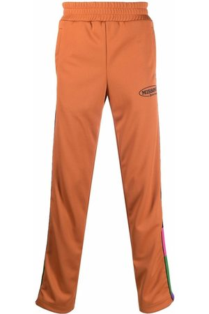 Palm Angels X Missoni colour block stripe track pants